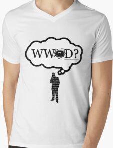 What Would The Flying Spaghetti Monster Do? Mens V-Neck T-Shirt