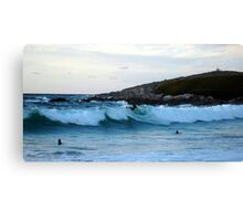 Surfer at Fistral Beach Canvas Print