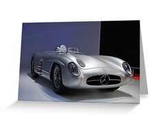 Beauty Benz Greeting Card