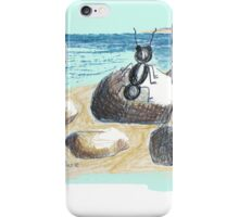 AN ANT ON THE SEASIDE iPhone Case/Skin