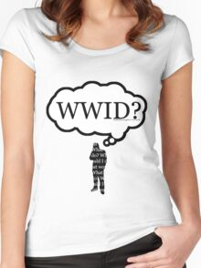 What Would I Do? Women's Fitted Scoop T-Shirt