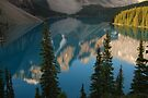 New Day  - Moraine Lake calendar series by Barbara Burkhardt