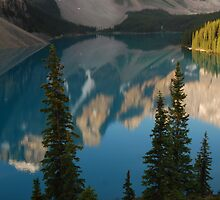 New Day  - Moraine Lake calendar series by Barbara Burkhardt