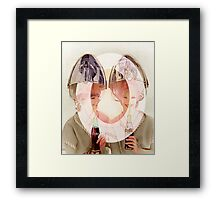 Hyper Hair Do made Somewhere in America. Framed Print