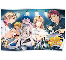Anime: Shokugeki no Souma (Food Wars) Poster