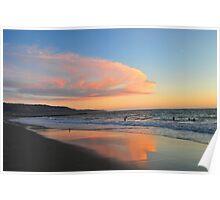 End of Santa Monica Bay Poster