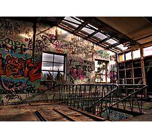 Williamstown Derelict Building Photographic Print