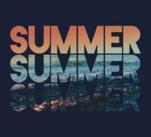 Summer Summer Summer One Piece - Short Sleeve