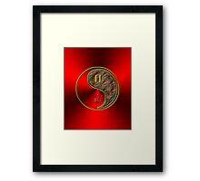 Gemini & Tiger Yang Earth Framed Print