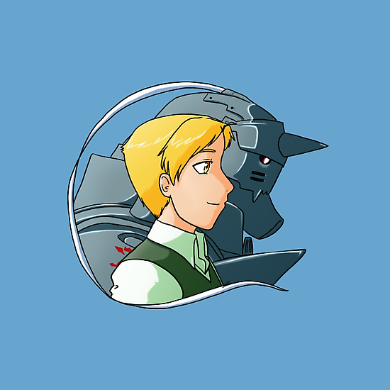 Alphonse Elric - Bust by BarbaraJHarris