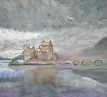 Eilean Donan Castle, Loch Duich, near Dornie, Scotland (Unblended Version) by MagsWilliamson