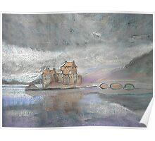 Eilean Donan Castle, Loch Duich, near Dornie, Scotland (Unblended Version) Poster