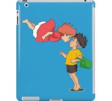 Ponyo and sosuke iPad Case/Skin