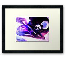 Lilac Fantasy Abstract Framed Print