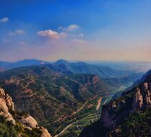 View from Montserrat by Joseph Timms