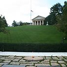 The Grave of President John F Kennedy by AnnDixon
