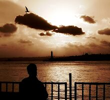 Thinking of you, place: Kadikoy-Istanbul by AYYA
