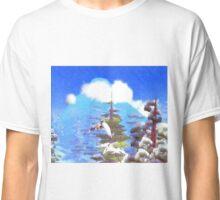 Hight mountain in a perfect world - 海特山在一个完美的世界 Classic T-Shirt