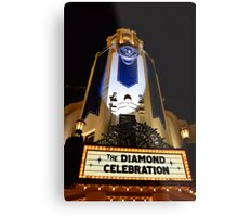 The Diamond Celebration Metal Print