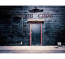 Dead Crow Club Photographic Print