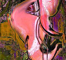 Flamingos by Anne Weirich