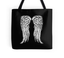 Daryl Dixon Angel Wings - The Walking Dead (dirty) Tote Bag