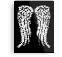 Daryl Dixon Angel Wings - The Walking Dead (dirty) Metal Print