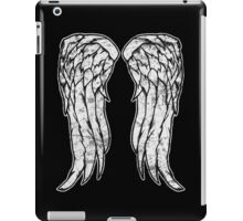 Daryl Dixon Angel Wings - The Walking Dead (dirty) iPad Case/Skin