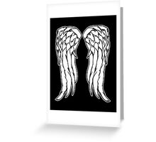 Daryl Dixon Angel Wings - The Walking Dead Greeting Card