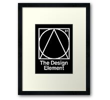 The Design Element Framed Print