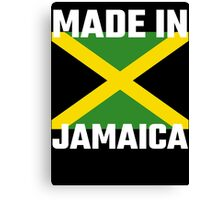 Made In Jamaica Canvas Print