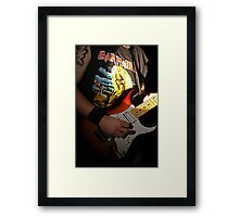 Ready to Rock! Framed Print