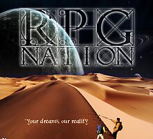 RPG Nation Concept Poster by rpgnationcouk