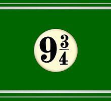 9 3/4 - Green & Silver by Serdd