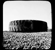 Outback Tyres by Jules Campbell