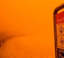 Sydney Dust Storm: Unforeseen by Milton Gan