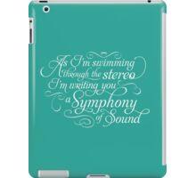Symphony of Sound iPad Case/Skin