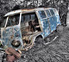Volkswagen Kombi, near Maleny, QLD by ripphotos