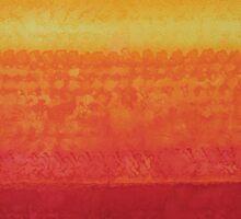 Desert Horizon original painting Sticker