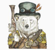 Polar Bear Warden Baby Tee