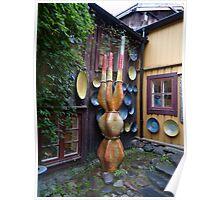 The Fantasy Garden of a Potter Poster