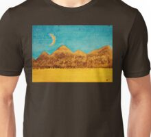 Mojave Moonrise original painting Unisex T-Shirt