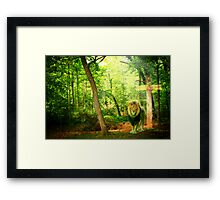Triumphant King Framed Print