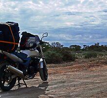 bush biking by Neil Mouat
