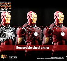 ironman chest piece by pieces by dryleaves