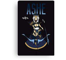 Ashe Chibi Canvas Print