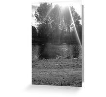 The Sun Will Shine Down On You Greeting Card
