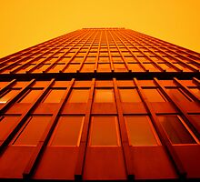 Orange tower by Damien Milan