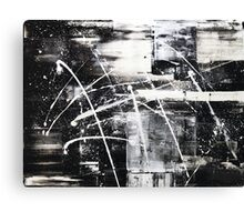 Black and White 01 Canvas Print
