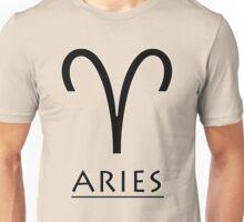 Aries Zodiac Sign Unisex T-Shirt